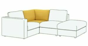 Ikea New Art VIMLE 003.510.93 Corner Section Sofa Slipcover Orrsta Golden Yellow