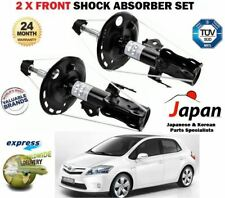 FOR TOYOTA AURIS 2006-2012 2 X FRONT LEFT + RIGHT SHOCK ABSORBER SHOCKER SET