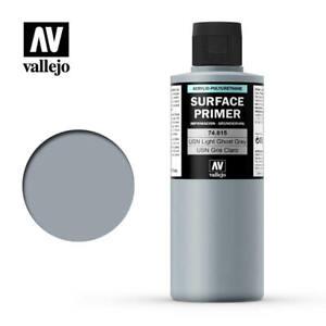 Vallejo Surface Primer 615 - USN Light Ghost Grey (74.615) 200ml