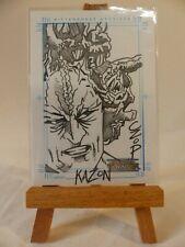 The Complete Star Trek Voyager Sketchafex sketch card Kazon by John Czop