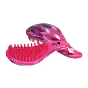 CALA Tangle Free Detangler Hair Brush for Wet and Dry Colors & Prints