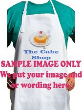 Apron Custom printed with your full colour image and or writing.