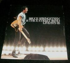 Bruce Springsteen & The E Street Band 1975-85 Tour Booklet w/song lyrics & pics