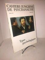 Cahiers Jungiens de psychanalyse n°102 | Types psychologiques