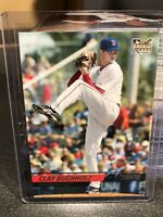 2008 TOPPS STADIUM CLUB CLAY BUCHHOLZ ROOKIE CARD BOSTON RED SOX RC MLB