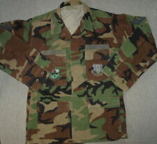 Air Force Military Camo Shirt Medium 314th Airlift Wing Education & Training Cmd