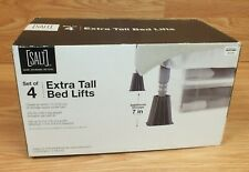 "SALT Set of 4 Extra Tall Bed Lifts For 7"" (inch) Extra Storage Space Under Bed!"