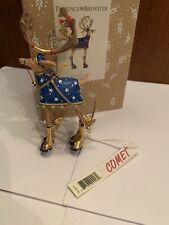 Patience Brewster Mini Dash Away Comet Reindeer Ornament Christmas
