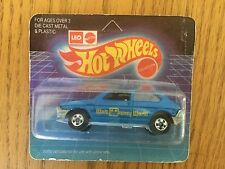 HARD TO FIND Hot Wheels WALT DISNEY WORLD FIAT BLUE CAR  new and sealed Rare