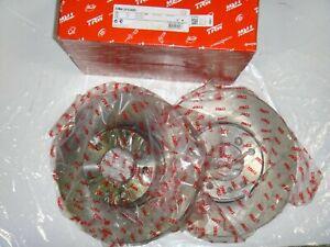 Front Brake Rotors Discs For Audi A6 A6 Quattro