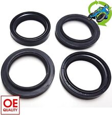 New Yamaha XT 225 Disc Fnt / Drum Rear 1989 to 1993 Fork Oil Dust Seal Seals Set