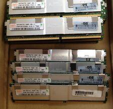 LOT OF 16GB 8pcs x 2GB HYNIX ECC DDR2 5300F SERVER RAM 667MHz  240PIN DIMM