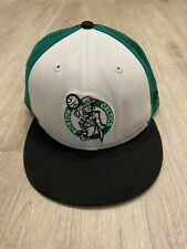New Era Boston Celtics Hat NBA Snapback Hardwood Classics White Black Green