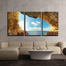 "Wall26 - Inside of Mainsail Nature Composition - CVS - 24""x36""x3 Panels"
