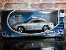 Mira Solido 1998 Porsche 911 Carrera 1:18 Scale Diecast Model Car Gray