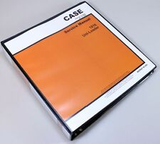 CASE 1816 UNI LOADER SKID STEER SERVICE TECHNICAL MANUAL REPAIR SHOP IN BINDER