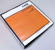 CASE 1816 UNI LOADER SKID STEER SERVICE TECHNICAL MANUAL REPAIR SHOP IN BINDER