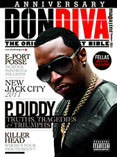 DON DIVA Magazine ISSUE #44 P. DIDDY New Jack City, E-Port Posse, Killer Head