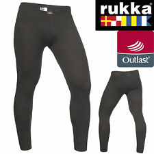 RUKKA Motorrad Poloshirt LUCA schwarz silber mit AWS Dry Anti-Schweiß Shirt