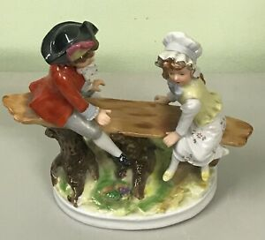 Vintage Seesaw Ornament by Saxony Ornaments Germany