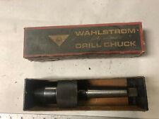 Machinist Tool Lathe Mill Unused Wahlstrom Drill Chuck In Box Grncb