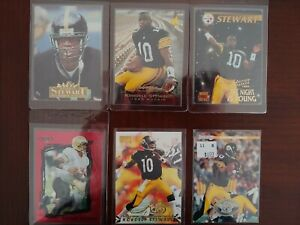 1995-96-98 KORDELL STEWART MIXED LOT OF 6 CARDS W/4 ROOKIE CARDS! RC NRMT-MT+