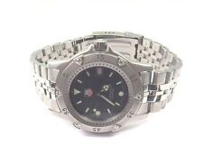 Tag Heuer WD1211-K-21 Stainless Steel Professional Watch With Diamond Bezel
