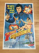 1983 ONE ARMED EXECUTIONER Orig. ACTION MARTIAL ARTS One Sheet Movie Poster MINT
