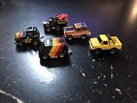 MICRO MACHINES - OFF-ROAD COLLECTION LOT (5) - 1987 GALOOB NO. 6400 VINTAGE