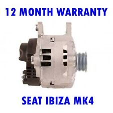 SEAT IBIZA MK4 MK IV 1.2 2002 2003 2004 2005 2006 2007 2008 2009 ALTERNATOR