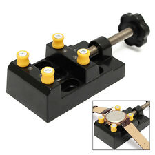 Watch Bench Table Vise Vice Clamp Non Scratching Repair Tools Case Holder