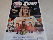 Vintage Original Galaxina 1 Sheet Movie Poster~Playmate Dorothy Stratten~EX!