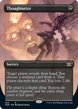 Thoughtseize - Foil - Borderless x1 - Double Masters - NM-Mint, English - Double