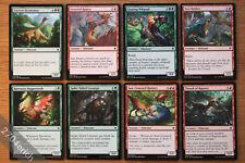 Lot of 8x Pauper Legal Dinosaur Cards *NM* Ixalan (Magic the Gathering MTG)