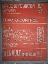 Renault relevage TRACTO-CONTROL : Manuel d'atelier MR132