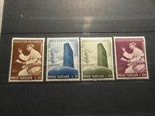x 4 STAMPS BRIEFMARKEN TIMBRES FRANCOBOLLO VATICANE 1965 PAULUS VI PACIS NUNTIUS