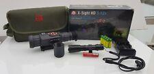 ATN X-Sight HD 3-12x Smart HD Optics Tag/Nacht Fernrohr +Zusatzakkus+ Ladegerät