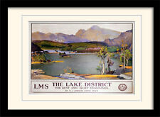 The Lake District For Rest And Quiet Imaginings Framed & Mounted Print