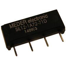 Meder sil12-1a72-71d Relais 12v 1xein 1000 Ohm Sil Reed Relay con diodo 047179