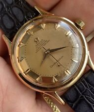 Omega Constellation DeLuxe de luxe Stunning ROSE Pink Bumper Automatic 2699sc