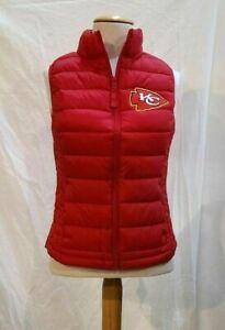 "Kansas City Chiefs  Game Day Vest w Patch ""New Listing"""