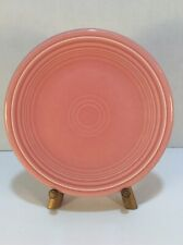 "Fiestaware 7 1/4"" Rose Pink Side/ Dessert Plate Homer Laughlin China"