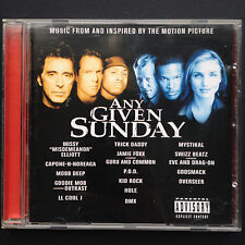 Oliver Stone ANY GIVEN SUNDAY Film Soundtrack OST CD 2000 Al Pacino Cameron Diaz