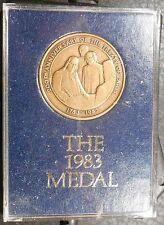 1983 Capitol Historical Society Medal Treaty of Paris Bicentennial Medal / N.111