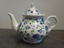 Lavender Field Teapot with Lid 16 OZ Purple Floral NEW
