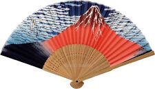 Ventaglio giapponese Japanese fan Sensu Seta Silk Bambù Bamboo Akafuji