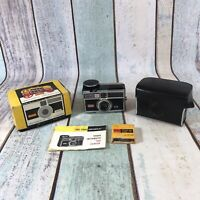Vintage KODAK Instamatic 400 Pocket Camera, Box Case Lens Untested