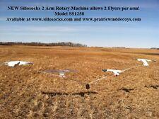 Sillosocks 2 ARM TORNADO ROTARY MACHINE (SS1258) by Sillosock Decoys Windsocks