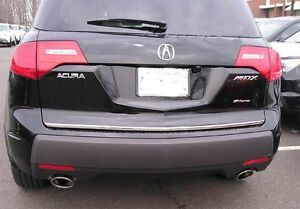 Rear Tail Gate Molding Trim Chrome Accent Strip Fits 2007 - 2013 07 13 Acura MDX