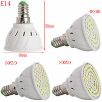 GU10/MR16/E14/E27 LED Spotlight 4W 5W 6W Bulb 2835 SMD Lamp Bright 110V 220V